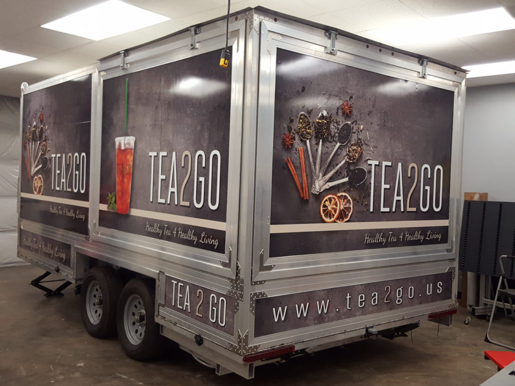 3M Trailer Full Wrap
