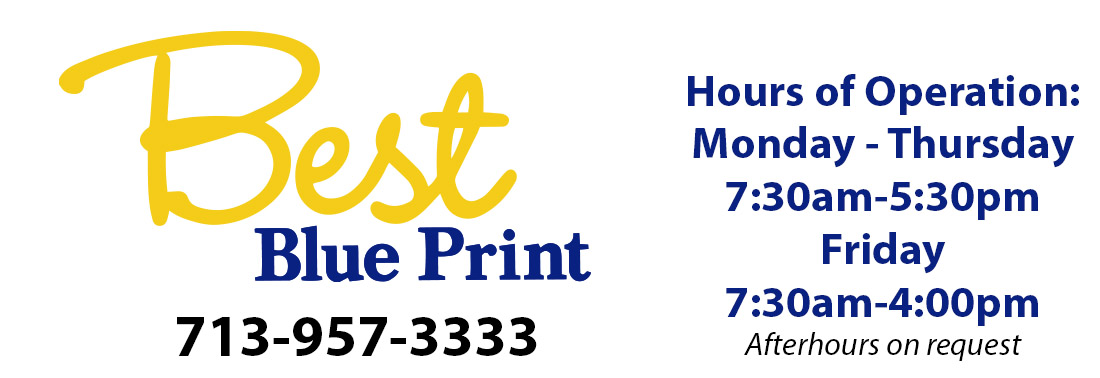Best Blue Print. For All Your Printing Needs